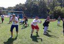 Edzőtáborozott az amerikai futball utánpótlás