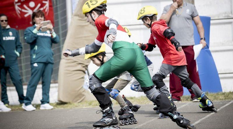 Integrált görkorcsolya verseny