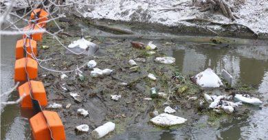 Illegális hulladék a Zagyván
